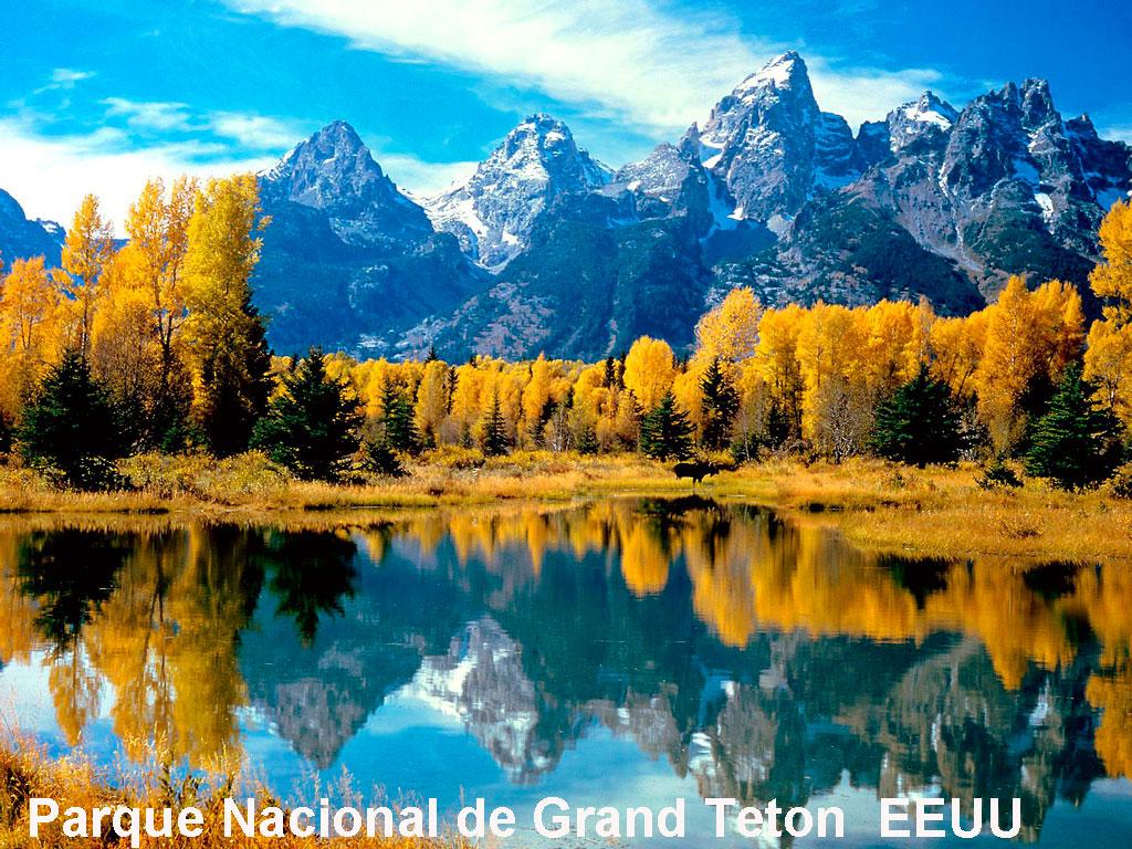 El Parque Nacional de Grand Teton