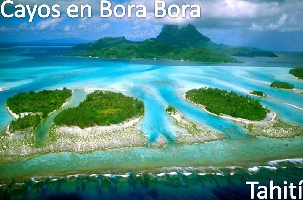 Cayos en Bora Bora