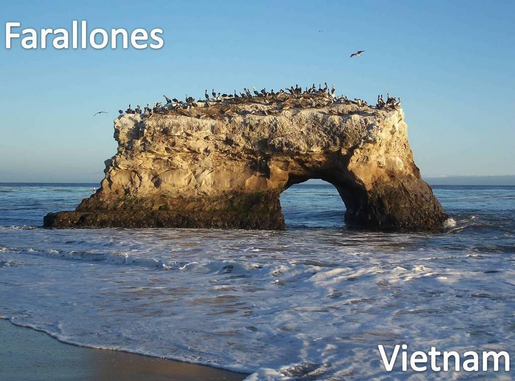 Farallones en Vietnam